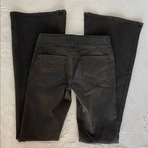 NWOT Free People Black Pull On Bell Bottom Jeans